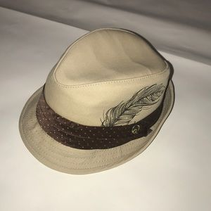 Goorin Bros Cotton Fedora Hat Small